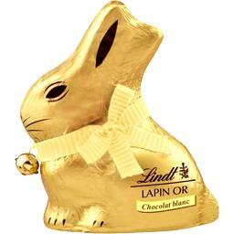 Lindt Lapin Or chocolat blanc