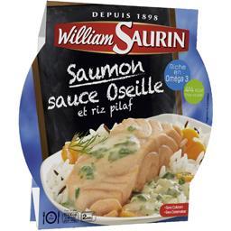 L'Assiette Du Jour - Saumon sauce oseille & riz pila...