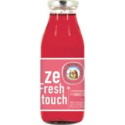 Les 2 marmottes Ze Fresh Touch - Boisson cynorrhodon et hibiscus fra... la bouteille de 50 cl