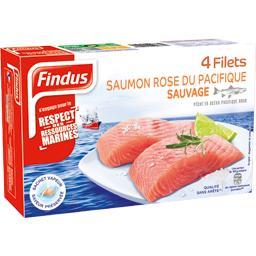 Filets de saumon rose sauvage du Pacifique