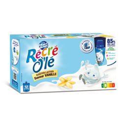 Récré O'lé - Goûter laitier vanille