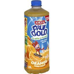 Jus d'orange sans pulpe - Fruigolo