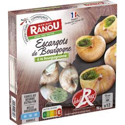 Escargots de Bourgogne préparés