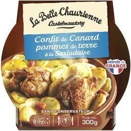 Confit de canard pommes de terre à la salardaise