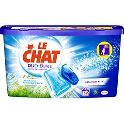 Le Chat Le Chat Duo-Bulles - Doses de lessive Souffle de Fraîcheur les 32 doses de 23 g
