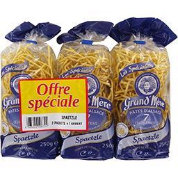 Les Spécialités - Pâtes d'Alsace Spaetzle 7 œufs frais