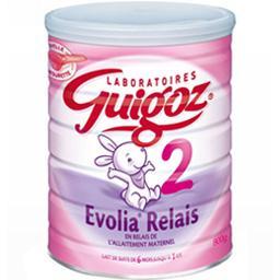 Lait en poudre Evolia Relais 2, de 6 mois à 1 an
