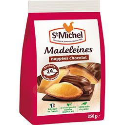 Madeleines nappées chocolat