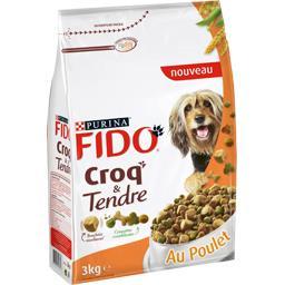 Croquettes Croq & Tendre au poulet pour chiens adult...