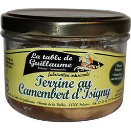 Terrine au Camembert d'Isigny