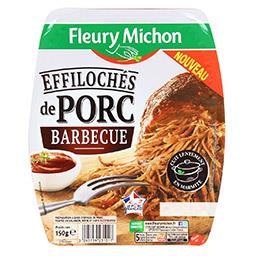 Effilochés de porc barbecue