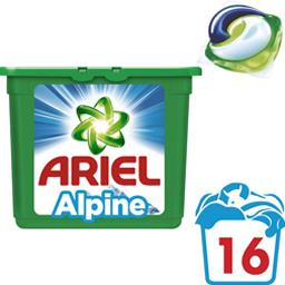 Lessive en capsules 3en1 Alpine