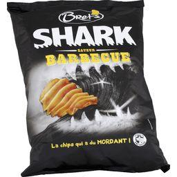 Bret's Shark - Chips saveur barbecue le paquet de 120 g