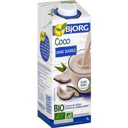 Bjorg Bjorg Boisson coco sans sucres BIO la brique de 1 l