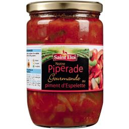 Piperade gourmande au piment d'Espelette