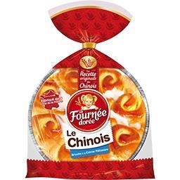 Brioche Le Chinois fourrée à la crème pâtissière