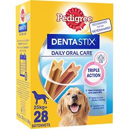 Pedigree Pedigree Dentastix - Sticks Daily Oral Care pour chiens +25 kg les 28 sticks -  720 g