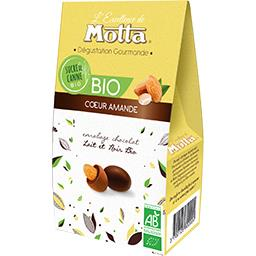 Motta Cœur amande chocolat lait et noir BIO la boite de 125 g