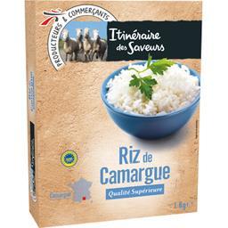 Riz long grain de Camargue de qualité supérieure