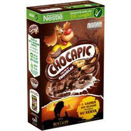 Nestlé Nestlé Céréales Chocapic - Céréales au chocolat la boite de 750 g