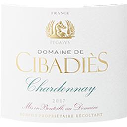 d'Oc Dne Cibadies Cuvée Pégase Chardonnay vin Blanc sec 2017