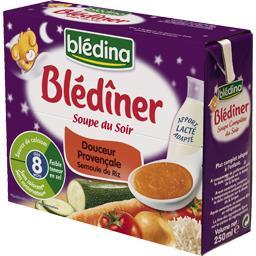 Blédîner - Soupe du soir Douceur Provençale semoule ...