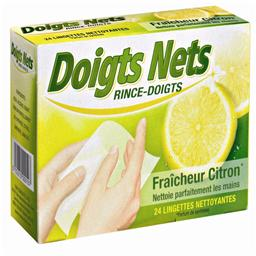 Rince-doigts Doigts Nets