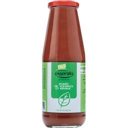 Purée de tomates et basilic BIO