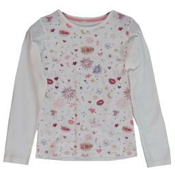 Tee-shirt écru fille taille 8 ans