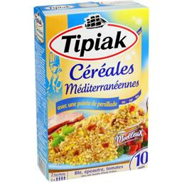 Tipiak Tipiak Céréales méditerranéennes les 2 sachets de 200 g