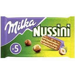 Milka Milka Barres chocolatées Nussini les 5 barres de 31,5 g