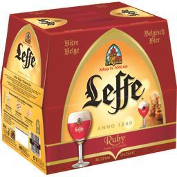 Bière belge Ruby, fruitée et étonnante