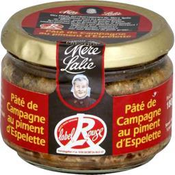 Pâté de campagne au piment d'Espelette Label Rouge