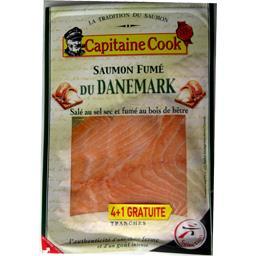 Saumon fumé du Danemark