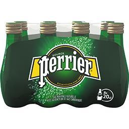 Perrier Perrier Eau minérale naturelle gazeuse les 8 bouteilles de 20 cl