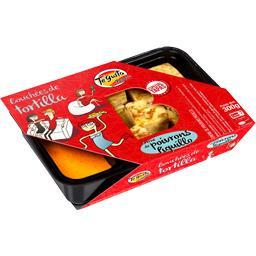 Bouchées de tortilla crème de poivrons piquillo