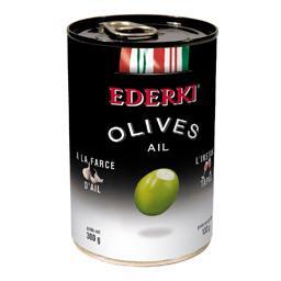 Olives à la farce d'ail