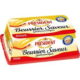 Président Président Beurrier Saveur 82% MG doux le beurrier de 225 g