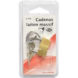 Cadenas laiton massif 35mm