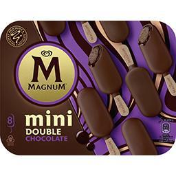 Bâtonnets minis de glace Double chocolat