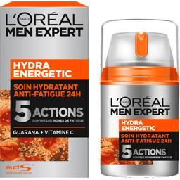 Soin hydratant anti-fatigue quotidien, Hydra Energet...