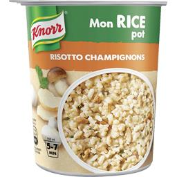 Knorr Mon Rice Pot - Risotto champignons le pot de 75 g