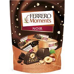Ferrero Assortiment de chocolats noir Moments la boite de 124 g