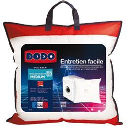 Oreiller confort medium entretien facile 60x60 cm
