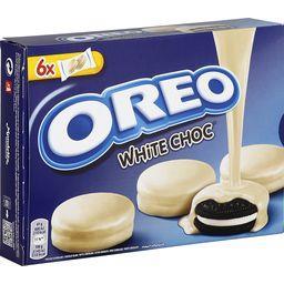 Oreo Oreo Biscuits White Choc les 6 sachets de 2 - 246 g