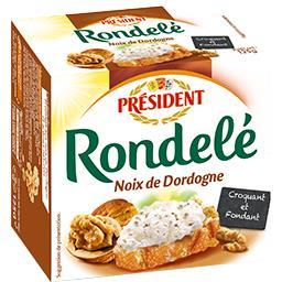 Rondelé Rondelé Fromage aux noix de Dordogne la boite de 125 g