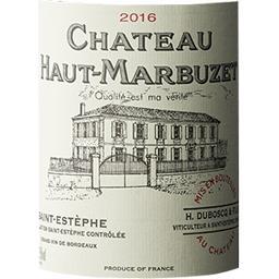 Saint-Estèphe Château Haut-Marbuzet vin Rouge 2016