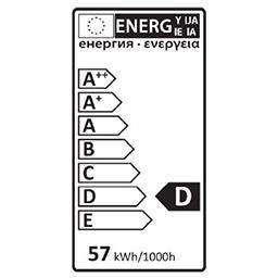 Ampoule STD halo 57W B22
