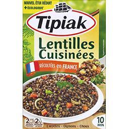 Tipiak Tipiak Lentilles cuisinées les 2 sachets de 120 g