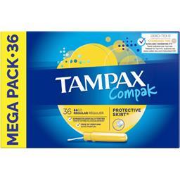 Tampax Compak - Tampon avec applicateur régulier